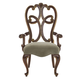 Bernhardt Villa Medici Arm Chair in Warm Chestnut 355-556 (Set of 2)