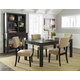 Gavelston 5pc Rectangular Dining Set in Espresso