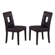 Global Furniture DG072 Dining Chair (Set of 2) in Brown DG072DC-BR