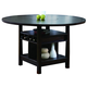 Crown Mark Conner Counter Height Table in Espresso 2849T-6060