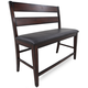 Crown Mark Maldives Counter Height Dining Bench in Brown 2760-BENCH