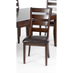Intercon Furniture Kona Ladderback Side Chair in Raisin (Set of 2)