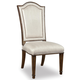 A.R.T Furniture Chateaux Upholstered Back Side Chair in Walnut 213206-1812 (Set of 2)
