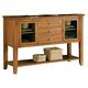 John Thomas Furniture Cosmopolitan Server in Aged Cherry SV84-34