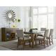 Standard Furniture Riverton 7-Piece Leg Dining Table Set in Grey