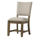Standard Furniture Riverton Upholstered Side Chair in Grey 13467