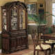Crown Mark Brussels Dining Buffet with Hutch in Luscious Brown 2470BH