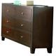Coaster Lorretta Dresser in Deep Brown