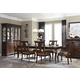 Legacy Classic Irving Park 7 Piece Rectangular Leg Dining Set in Brandy