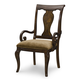 Legacy Classic Irving Park Splat Back Arm Chair in Brandy (Set of 2) 4100-141KD