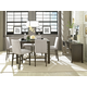 Casana Hudson 7 Piece Counter Height Cafe Dining Set in Deep Licorice