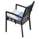 Skyline Design Miami Dining Arm Chair in Black Mushroom 22472