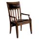 Hekman Harbor Springs Arm Chair in Rustic Hardwood (Set of 2) 942503RH
