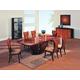 Global Furniture D52 7-Piece Dining Room Set in Wood Veneer