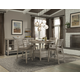 Cresent Fine Furniture Corliss Landing 5-Piece Gathering Set in Weathered Driftwood Grey
