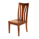 A-America Grant Park Slatback Side Chair in Pecan (Set of 2) GPKPE265K