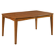 Broyhill Mardella Rectangular Leg Dining Table in Warm Cognac 4277-532