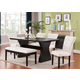 Acme Furniture Effie 7 Piece Rectangular Dining Set in Espresso