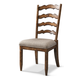 Klaussner Southern Pines Ladderback Side Chair in Pine Ridge 436-900 (Set of 2)