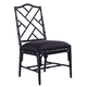Tommy Bahama Island Estate Ceylon Side Chair-Noche/Custom Fabric