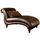 Claremore Chaise in Antique 8430315