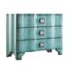 Hooker Furniture Melange Turquoise Crackle Chest 638-85016