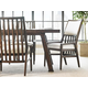 Stanley Newel 7pc Rectangular Dining Room Set in Date