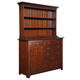 Kincaid Homecoming Carvers Hutch & Buffet in Vintage Cherry 38-092P