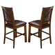New Classic Furniture Aspen Standard Dining Chair (Set of 2) in Burnished Cherry 40-116-20
