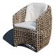 Skyline Design Dynasty Dining Arm Chair in Kubu Mushroom (Set of 2) 22462