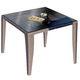 Skyline Design Madison Square Dining Table in Shimmer Viola 22401