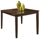 New Classic Edgemont Counter Dining Table in Distressed Walnut 45-112-12
