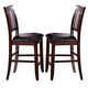 New Classic Furniture Kaylee Counter Chair (Set of 2) in Tudor Brown 45-101-20