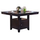 New Classic Furniture Kaylee Counter Table in Espresso 45-102-B10
