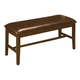 New Classic Latitudes Bench with PU Seat in Chestnut 40-150-25C