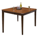 New Classic Latitudes Counter Cut Corner Dining Table in Chestnut 45-150-11C