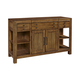 Broyhill Bethany Square Sideboard in Mid-Tone Brown 4930-517