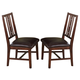 New Classic Madera Dining Chair in Chestnut (Set of 2) 40-455-20