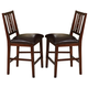 New Classic Madera Counter Chair in Chestnut (Set of 2) 45-455-22