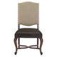 Bernhardt Eaton Square Customizable Upholstered Side Chair (Set of 2) in Harvest Brown 352-Y41