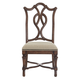 Bernhardt Eaton Square Customizable Splat Back Side Chair (Set of 2) in Harvest Brown 352-X55
