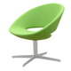 Soho Concept Crescent Lounge 4 Star Swivel Chair