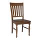 John Thomas Furniture Bridgeport Harbor Chair (Set of 2) in Espresso C581-41