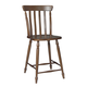 John Thomas Furniture Bridgeport Cottage Stool (Set of 2) in Espresso S581-4002
