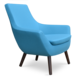 Soho Concept Rebecca Arm Chair Wood