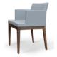 Soho Concept Soho Wood Lounge Arm Chair