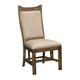 Kincaid Bedford Park Craftsman Upholstered Side Chair in Hazelnut (Set of 2)