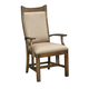 Kincaid Bedford Park Craftsman Upholstered Arm Chair in Hazelnut (Set of 2)