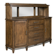 Kincaid Bedford Park Canyons Canted Buffet w/ Hutch in Hazelnut