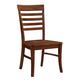 John Thomas Furniture Cosmopolitan Roma Chair (Set of 2) in Espresso C581-310 CLEARANCE